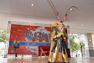 台南生活美學館魔術表演+川劇變臉+猴王戲法+蜘蛛人入大氣球+小丑魔術汽球表演+人體飄浮魔術大道具 (3)