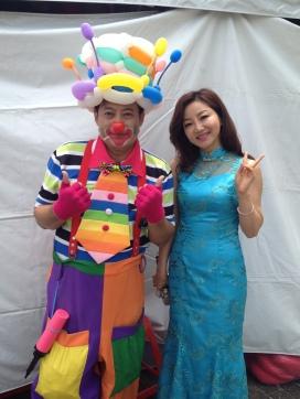 聯邦銀行魔術表演小丑汽球秀魔幻汽球劇團表演@高雄文化中心 (8)