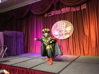 高雄漢來-不二家尾牙主持+魔術表演+川劇變臉+人入大氣球 (4)