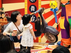 台南南紡夢時代小丑魔術氣球表演 (4)